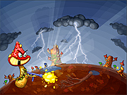 "Play Flash Game: ""Battle of Mushrooms"" Free"