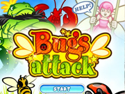 "Play Flash Game: ""Bugs Attack"" Free"