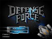 "Play Flash Game: ""Defense Force"" Free"