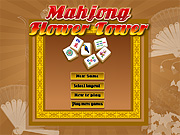 "Play Flash Game: ""Mahjong Flower Tower"" Free"