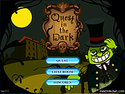 "Play Flash Game: ""Quest in the dark"" Free"