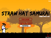 "Play Flash Game: ""Straw Hat Samurai"" Free"